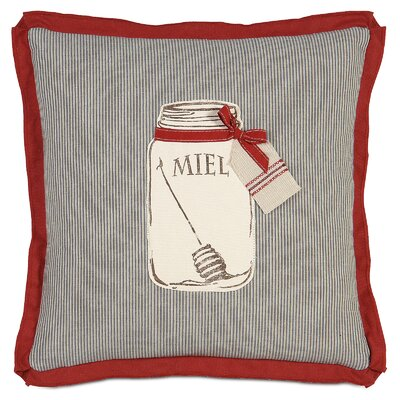 French Country Miel Throw Pillow