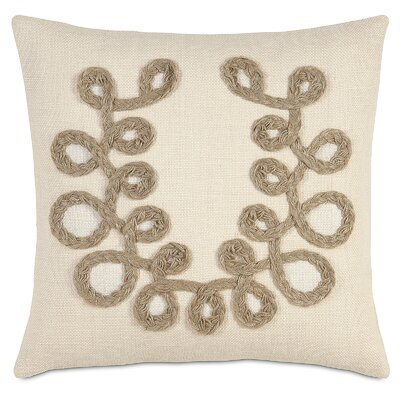 French Country Plaited Loops Throw Pillow