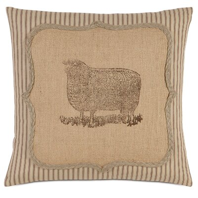 French Country Baa Baa Throw Pillow