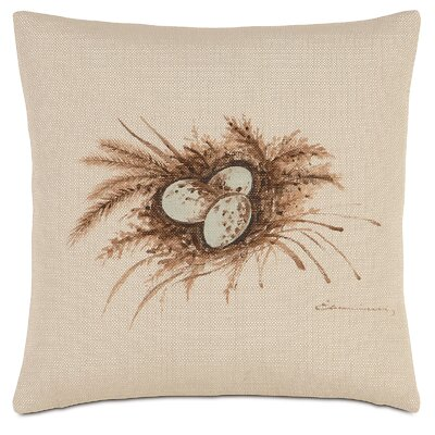French Country Nest Egg Throw Pillow