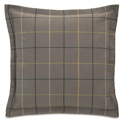 Chalet Donoghue with Frange Throw Pillow Color: Slate