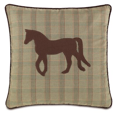 Equestrian Mustang Throw Pillow