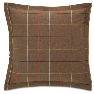 Chalet Donoghue with Frange Throw Pillow Color: Brown