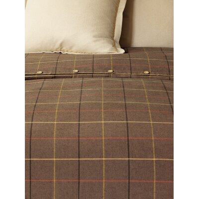 Chalet Donoghue Duvet Cover Color: Brown, Size: Twin