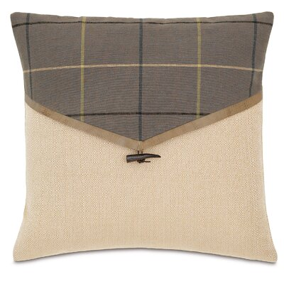 Chalet Donoghue Throw Pillow Color: Slate