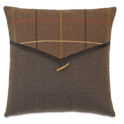 Chalet Donoghue Throw Pillow Color: Brown