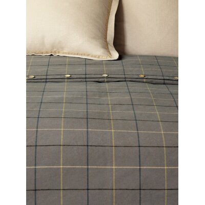 Chalet Donoghue Duvet Cover Size: Super Queen, Color: Slate