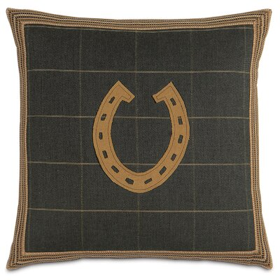 Equestrian Horseshoe Throw Pillow