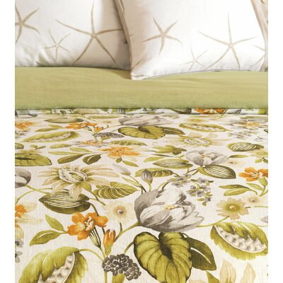 Stelling Palm Duvet Cover Size: Twin