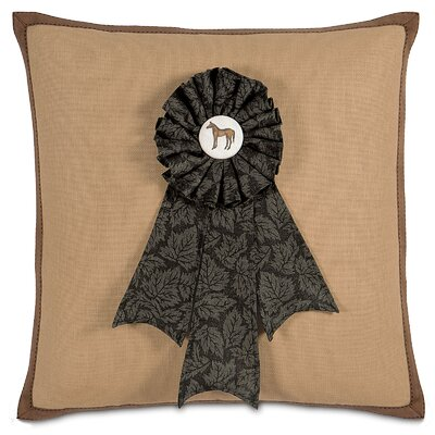 Equestrian First Prize Throw Pillow