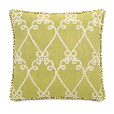 Caroline Etta Lime Throw Pillow