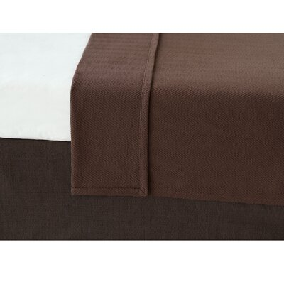 Chalet Bozeman Coverlet Size: California King, Color: Brown