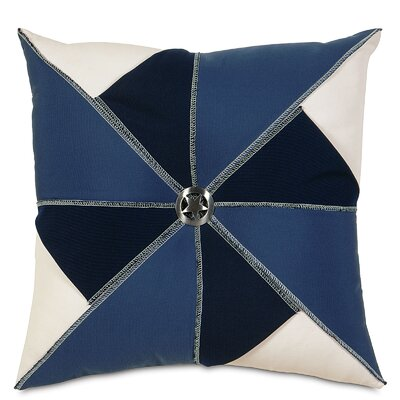 Americana Wind Mill Throw Pillow