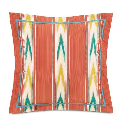 Maldive Nosara Sunset Throw Pillow