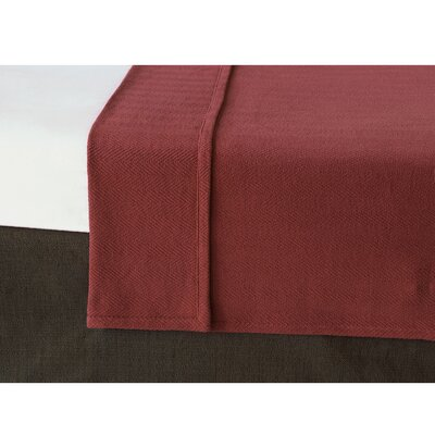 Chalet Bozeman Coverlet Size: Twin, Color: Russet
