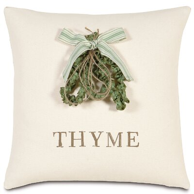 Garden Thyme Throw Pillow