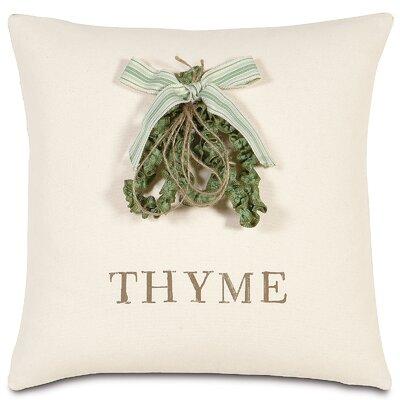 Garden Thyme Throw Pillow