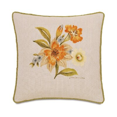 Stelling Hand Painted Stelling Motif Throw Pillow