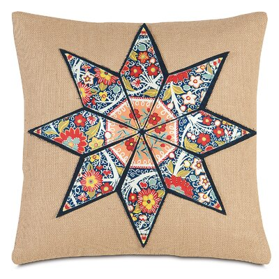 Folkloric Anise Throw Pillow