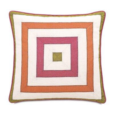 Caroline Susan Spring Mitered Throw Pillow
