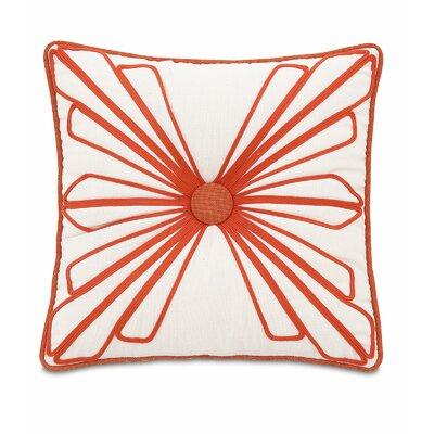 Maldive Dutchess Shell Tufted Throw Pillow