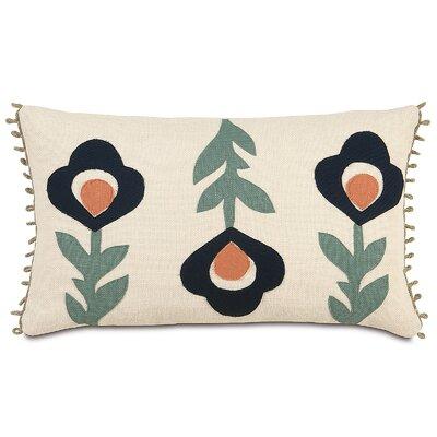 Folkloric Moraea Lumbar Pillow