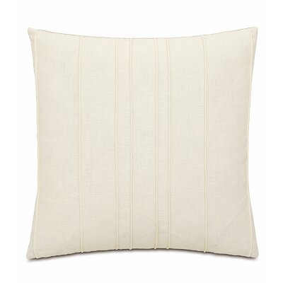 Silas Breeze Pearl Linen Throw Pillow