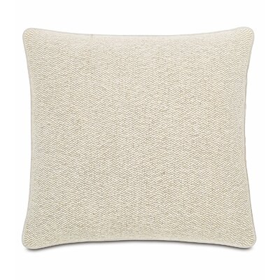 Silas Corfis Vanilla Linen Throw Pillow