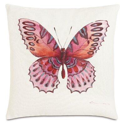 Garden Fauna Fuchsia Throw Pillow