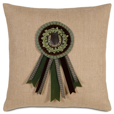 Equestrian Secretariat Throw Pillow