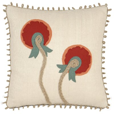Folkloric Bloom Throw Pillow
