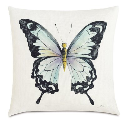 Garden Fauna Ink Throw Pillow