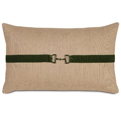 Equestrian Bridle Bit Lumbar Pillow