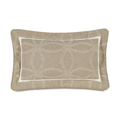 Silas Self Flange Linen Lumbar Pillow