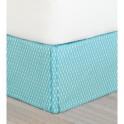 Maldive Senna Sky Bed Skirt Size: Twin