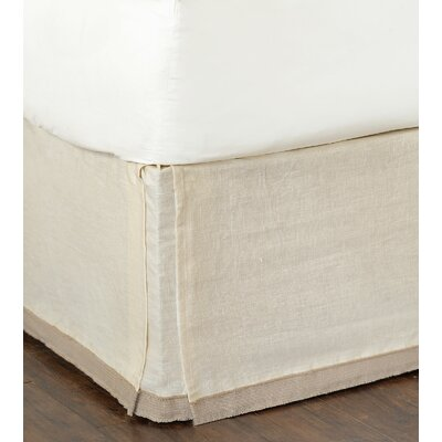Silas Breeze Pearl Bed Skirt Size: Full
