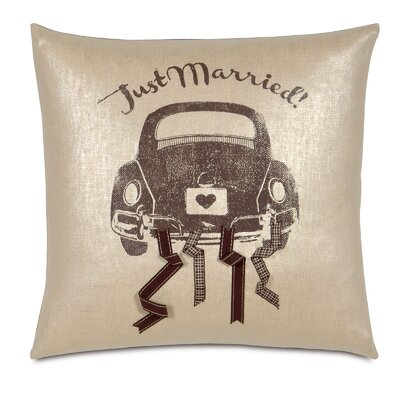 Wedding Going to the Chapel Throw Pillow