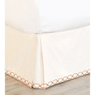 Witcoff Ivory Bed Skirt Size: King
