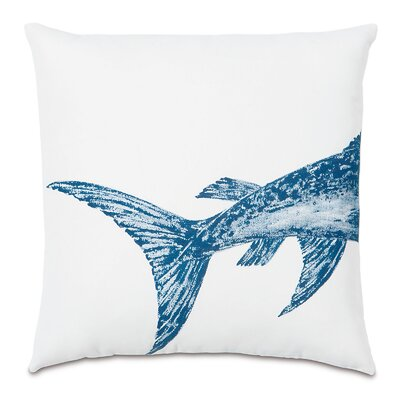 Outdoor Swordfish Tail Throw Pillow
