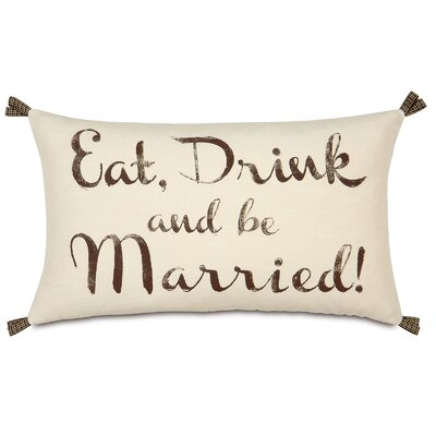 Wedding More Than Words Lumbar Pillow