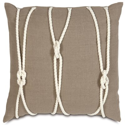 Nautical Yacht Knots Throw Pillow