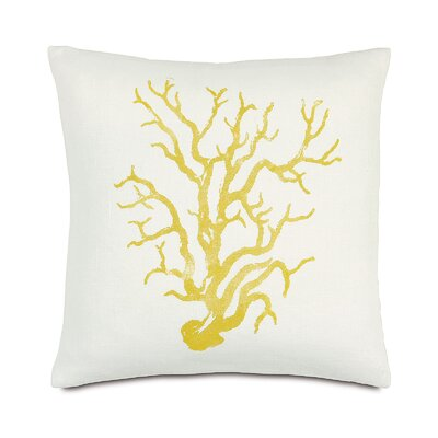 Tropical Sea Life Throw Pillow
