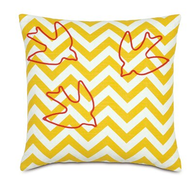 Wild Things Swallows Throw Pillow