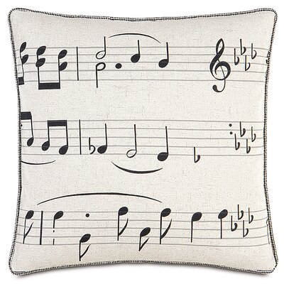 Music On the Beat Throw Pillow