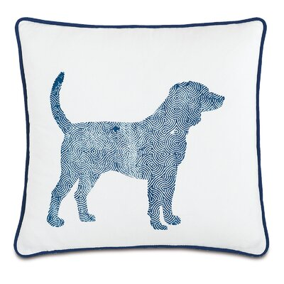 Wild Things Dapper Dog Throw Pillow