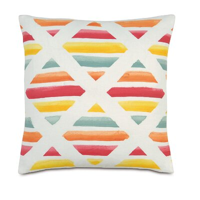 Tropical Siesta Key Linen Throw Pillow