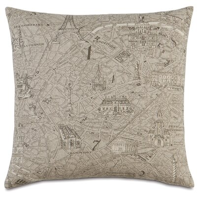 Passport La Carte Throw Pillow