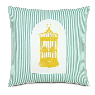 Wild Things Gilded Cage Throw Pillow