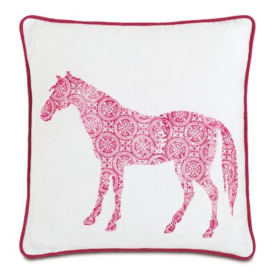 Wild Things Humble Horse Throw Pillow