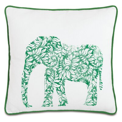 Wild Things Earnest Elephant Throw Pillow